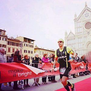 Moreno alla Half Marathon Firenze