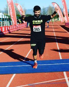 Alessio Giuffrè corre a Campi Bisenzio